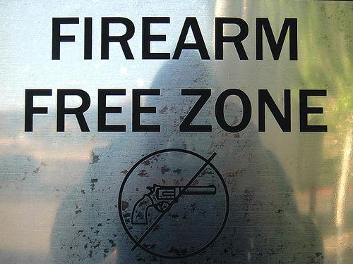 firearm free zone